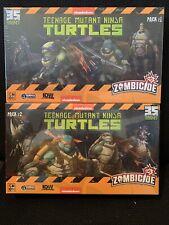SDCC Zombicide: Teenage Mutant Ninja Turtles Character Pack 1 and 2 TMNT