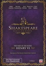 Shakespeare Collection War Of The Roses / Henry V1  DVD 2 Disc Set