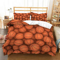 Many Basketball 3D Printing Duvet Quilt Doona Covers Pillow Case Bedding Sets