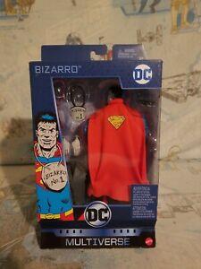 "MATTEL DC MULTIVERSE BIZARRO 6"" ACTION FIGURE NEW Factory Sealed NIB"