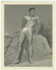 Bruce of LA Vintage 1950 Beefcake Nude Male Photo Gay Physique Bodybuilder Q7409