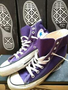 Men 7Us U.S.A Rare Converse All-Star Sneaker Purple Vintage