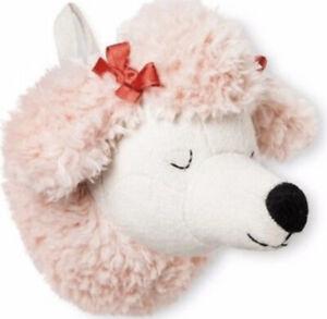 Pillowfort Poodle Dog Mini Wall Head Decor Kids Playroom
