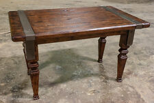 Rustic Old World End Table