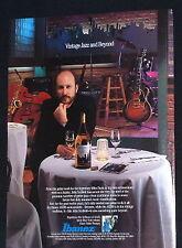 1992 John Scofield Ibanez AS200 semi-acoustic guitar photo print Ad