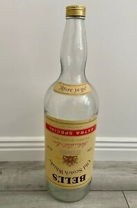 BELLS LARGE 4.5l (8 Pint, 1 Gallon) EMPTY WHISKY BOTTLE with LID