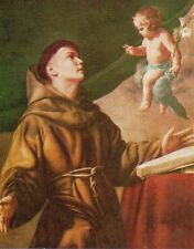 311/C S. Antonio da Padova  santino holycard