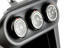 Ssco Black 08+ Evo X Climate Control Covers Lancer Mr Evolution Mitsubishi