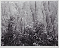 "Mark Citret Photo, Gelatin Silver ""Black Canyon #2"" 1982, signed limited edition"