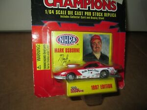 Mark Osborne MA MA ROSA'S PIZZA RACE 1997 Pro stock NHRA PONTIAC RACING CHAMPION