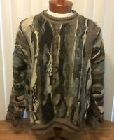 Protege Collection Vintage Sweater Coogi Style Biggie Streewear Pullover XL