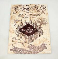 Harry Potter The Marauder's Map Hogwarts School of Witchcraft & Wizardry **NEW**