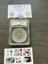 More details for 2008 undated mule error 20p coin slabbed & graded by coin grading service cgs 70