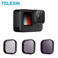 TELESIN ND8 ND16 ND32 Lens Filter Aluminium Alloy Frame for GoPro Hero 9 Black