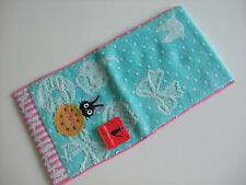 NEW!! Ghibli Kiki's Delivery Service Jiji Kawaii Pocket Hand Towel/13×25cm