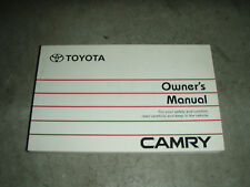 Toyota SVD10 Camry Owners manual