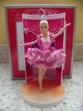 Carlton Cards/American Greetings 2013 Barbie Prima Ballerina Christmas Ornament