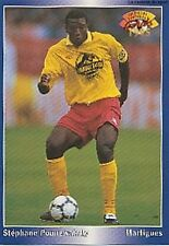 N°099 POUNEWATCHY FC.MARTIGUES CARTE PANINI FOOTBALL 95 FRANCE CARDS 1995