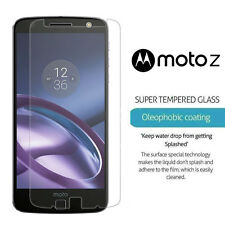 2 x Tempered Glass Screen Protector Premium Protection Motorola Moto Z (2017)