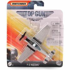 Mattel Matchbox Skybusters Toy Metal Plane - Top Gun: Maverick - P-51 MUSTANG