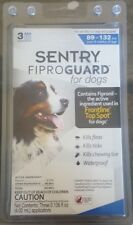 Sentry FiproGuard  Flea and Tick for Dogs 3 applications 89 to 132-Pound