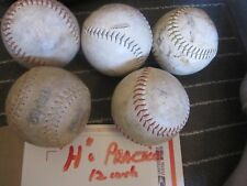 * 12 In. * White Softball 5 Training Practice See desc ( h )
