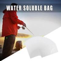 20pcs Water Solving PVA Bag for Carp Coarse Bait Bag Bait Throw Fishing Tackle