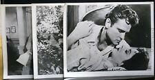 """3 VINTAGE 8""""X10"""" STUDIO PHOTOS JOHN ERICSON PRETTY BOY FLOYD CRIME JOAN HARVEY(B"""