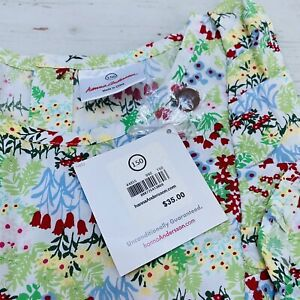 Girl's Pretty Tunic Garden Floral  Hanna Andersson, Size 150, NWT