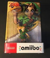Nintendo Legend of Zelda Amiibo Figure [ Link Majora's Mask Edition ] NEW
