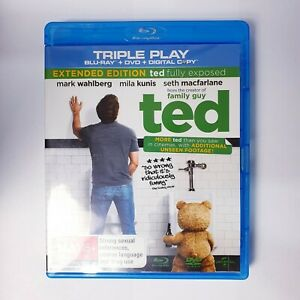 Ted Movie Bluray Free Postage Blu-ray - Comedy