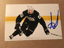 Axel Andersson SIGNED 4x6 photo BOSTON BRUINS #4