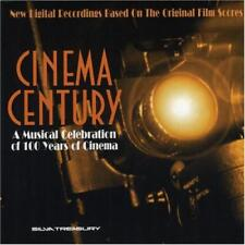 Cinema Century Musical Celebration Of 100 Years 4-Disc Set w/ Artwork MUSIC CDs