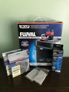 Fluval 307 canister filter + Extras