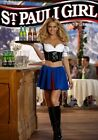 4x6 Inch Glossy St. Pauli Beer Sexy Girl Refrigerator/Tool Box/Man Cave Magnet