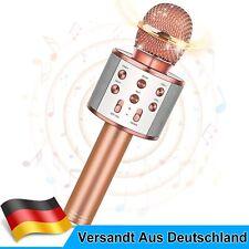 Bluetooth Karaoke Mikrofon drahtlose Handmikrofon Lautsprecher Hause KTV/Party