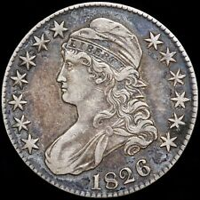 More details for america. half dollar (50 cents), 1826. capped bust type.