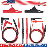Multimeter Electronic Professional Test Lead Set / 8Pcs Multimeter Accessory Kit