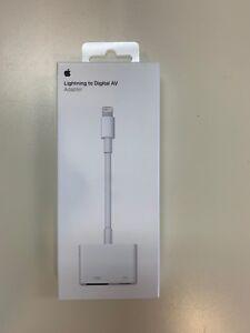 Genuine Apple Lightning to Digital AV Adapter MD826AM/A HDMI New sealed