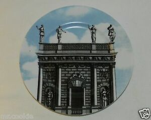 """Fitz & Floyd 574 Renaissance Vistas IV Fine Porcelain Salad Plate 8"""" Japan"""