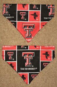 Texas Tech University Red Raiders Dog Bandana - 5 sizes XS - XL