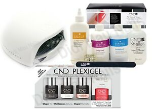 CND PLEXIGEL SHAPERKIT with UV LAMP & Large Size Essentials
