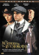 The Murders In The Rue Morgue ~ George C. Scott Val Kilmer ~ DVD ~ FREE Shipping