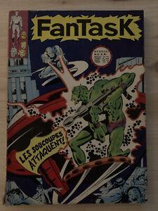 Fantask 2 1969 Éditions Lug. Quelques ébréchures sur le dos. Voir photos.