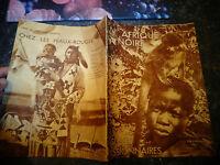 l'Afrique Noire Jésuites Missionnaires : 1936 Chasse Masque Bayaka Babunda .....