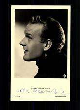 Albert Mattersrock Ross Autogrammkarte Original Signiert # BC 70704