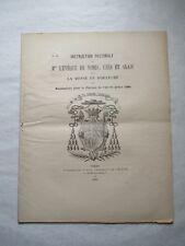Instruction Pastorale de Mgr l'Évêque de Nîmes sur la Messe du Dimanche 1886