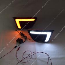 LED Daytime Running Light Fog Lamp Turn DRL H For Honda Fit Jazz GK5 2014-2017
