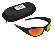 SS TON Pro Cricket Sunglasses + Hard Case + UV Protect + Free Ship + AU Stock