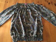 NEU! SUZANNA Bluse Gr. XS / 34 Langarm 100 % Polyester